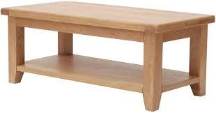 buy furniture link hampshire oak coffee table large online cfs uk