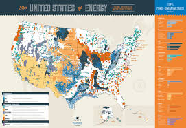 Images Of The United States Map by New Energy Map Of United States Reveals Disproportionate Landscape