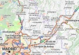 map of fresno map of fresno de torote michelin fresno de torote map viamichelin