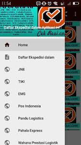 cek resi raja ongkir cek resi ekspedisi indonesia 1 0 apk apk tools