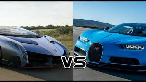cars lamborghini veneno bugatti chiron vs lamborghini veneno racing comparison review