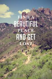 find a beautiful place and lost Wisdom