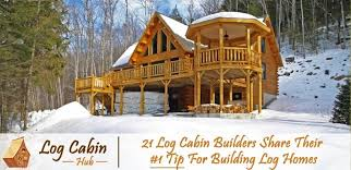 Rocky Mountain Log Homes Floor Plans 21 Log Cabin Builders Share Their 1 Tip For Building Log Homes