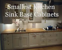 smallest kitchen sink base cabinet 2 jpg