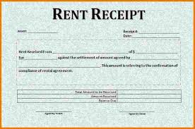 rent receipt template word authorization letter pdf
