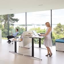 Sit Stand Office Desk by Attention T Bench Desks Sedus Sit Stand Desks Apres Furniture