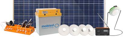 mobisol testing delivery of solar home systems in off grid areas