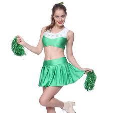 halloween costume cheerleader ladies high cheerleader cheergirl cheering uniform dress