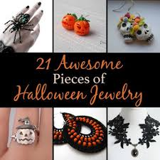 21 awesome pieces of halloween jewelry holidaysmart