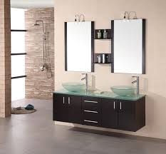 Unique Vessel Sink Bathroom Vanities On Sale With Free Shipping - Bathroom vanities double vessel sink