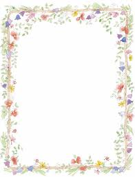 free printable floral borders and frames free download clip art