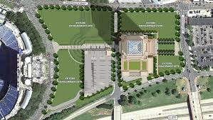 site plan site plans reveal first phase of charlotte observer site