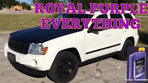 purple jeep cherokee royal purple change over jeep grand cherokee and srt4 neon youtube