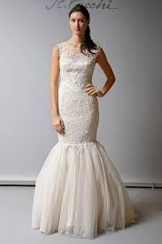 wedding dress illusion neckline illusion neckline trumpet wedding dress sang maestro
