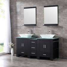 Bathroom Double Vanity Cabinets by Modern Bathroom Double Vanity Ebay