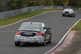 2018 mercedes amg s63 4matic spied at the nurburgring