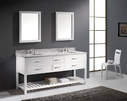 virtu usa caroline estate 72 double bathroom vanity set in white
