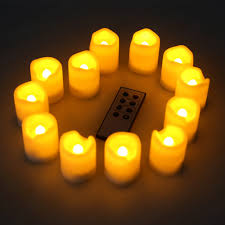 flameless candle ideas