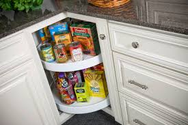 Lazy Susan Kitchen Cabinet Wolf Classic Cabinets Built In Lazy Susan Saves Space And Time
