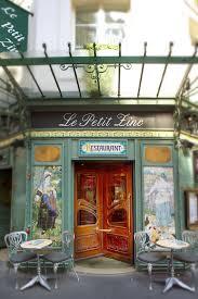 paris photograph le petit zinc restaurant art nouveau paris