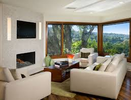 interior terrific home decorating for living room using white