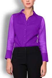 purple silk blouse matte purple silk wide collar blouse wren