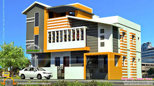 Row House Front Elevation - breathtaking south indian house designs 16 in home decor ideas