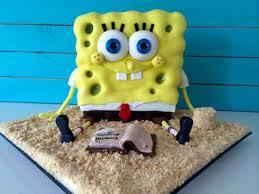 sponge bob cakes howtocookthat cakes dessert chocolate spongebob cake
