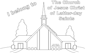 handout lds meeting house coloring gif format bebo pandco