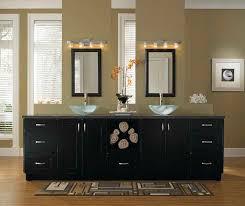 Black Bathroom Cabinet Contemporary Bathroom Vanities Kemper Cabinetry