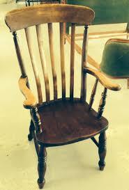 High Back Windsor Armchair Antique High Back Farmhouse Windsor Chair Circa 1860 273889