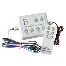 21 color rgb led lighting controller armacost lighting