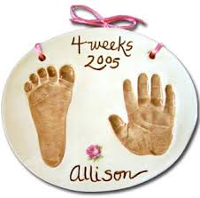 baby handprint keepsakes we you on how to create own baby