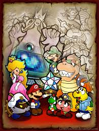 Paper Mario World Map by I Really Like Paper Mario 2 By Lorddonovan On Deviantart