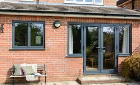 Black Upvc Patio Doors Have A Look At Our Beautiful Windows Gallery Today Anglian Home