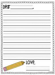 letter writing paper extraordinary blank writing paper for 1st graders for best 25 letter