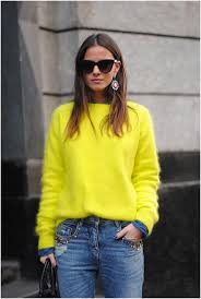 yellow sweater all you need is a neon yellow sweater 2018 become chic