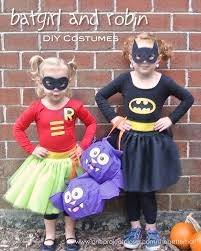 diy batgirl and robin costumes from one project closer our