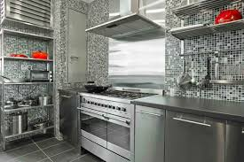 kitchen with stainless steel backsplash modern ikea stainless steel backsplash homesfeed home devotee