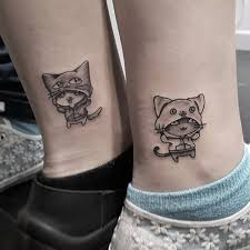 awesome tattoo for sisters