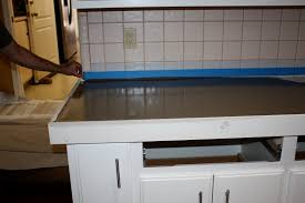 how to install kitchen countertops remodelaholic quick install of concrete countertops kitchen
