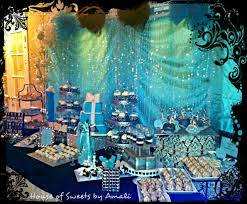 Tiffany Color Party Decorations Damask And Tiffany Blue Bridal Wedding Shower Party Ideas