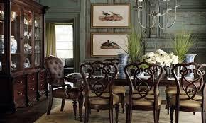 Stanley Furniture Coastal Living Resort Shelter Bay Dining Trestle - Stanley dining room furniture