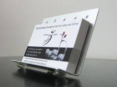 Modern Business Card Case Modern Metal Easel Style Vertical Business Card Holder Brand