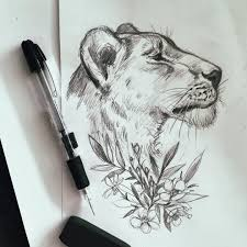 pictures lion pencil art tattoos drawing art gallery