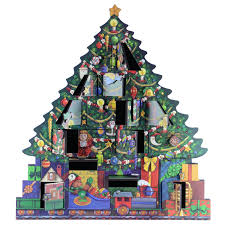 christmas tree wooden advent calendar great gifts for christmas