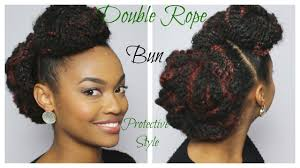 what is the best marley hair to use easy double rope bun with marley hair day 2 of 12 days of