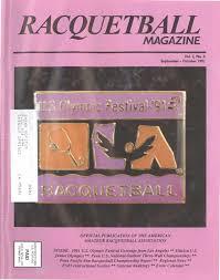 Mi Bolivia Amada Los Sue 209 Os M 193 S Grandes De Los - racquetball magazine sept oct 1991 by jimmy oliver issuu