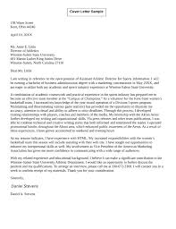 cover letter for administration clinic administrator cover letter