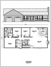 Ranch Blueprints by Ranch Floor Plans Bonaventure Place Ranch Home Plan 055d 0774